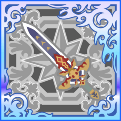 Ultima Sword in <i>Final Fantasy Airborne Brigade</i> (SSR+).