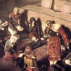 The standard ending of <i>Final Fantasy Type-0</i>.
