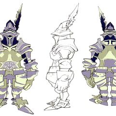 Concept art of Steiner in Trance.