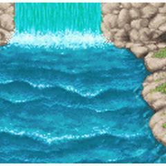 Rapids background.