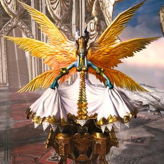 Rank 5 ability card (Warrior).
