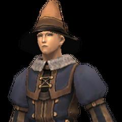 Wizard's attire<br />Spaekona's attire