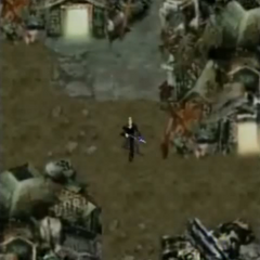 Sector 5 Slums in <i>Before Crisis -Final Fantasy VII-</i>.