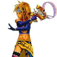 Rikku as a Gun Mage.