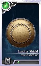 FF12 Leather Shield N Artniks