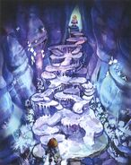 Ice Cavern FFIX Art 2