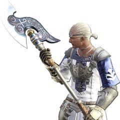 Marauder render for the original <i>Final Fantasy XIV</i>.