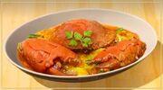 Sweet Saltwater Crustacean Curry