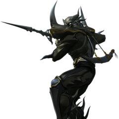 CG render of Cecil as a Dark Knight.