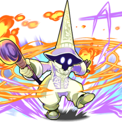 Vivi in Trance in <i>Puzzle &amp; Dragons</i>.
