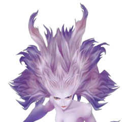 Terra's Trance form in <i>Dissidia</i>, based on her concept art.