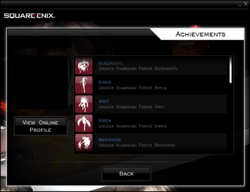 FFVIII 2013 Achievements
