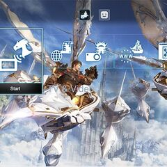 PlayStation 4 theme (lower part).