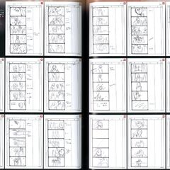 Storyboard for Selphie's camcording at the ending.