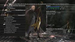 LRFFXIII Choosing Weapon