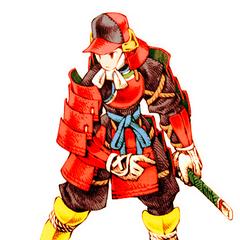 Male Samurai.