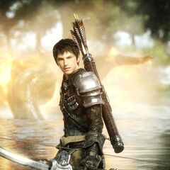 CG Midlander as an Archer in the <i>Legacy</i> opening FMV.