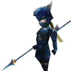 In-game render of Kain (DS).