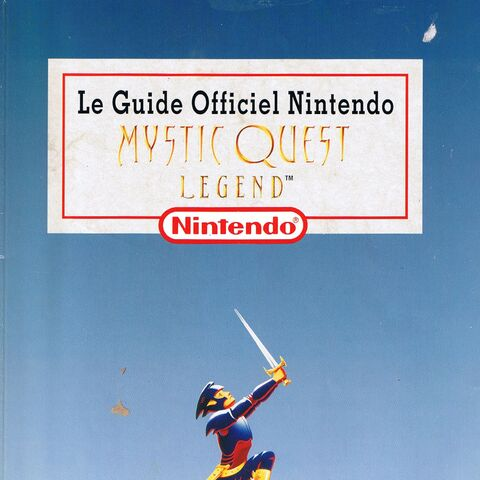 Le Guide Officiel Nintendo Mystic Quest Legend cover.