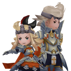 Edea and Ringabel as Templars in <i><a href=