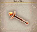 Bravely Default Rod of Fire