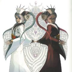 Celestia and Yuzuki.