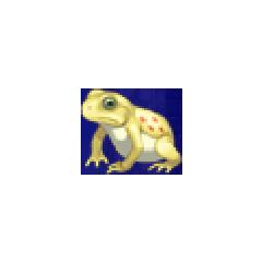 Toad portrait for Palom and Porom in <i>Final Fantasy IV</i> (PSP).