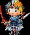 Firion dans Theatrhythm Final Fantasy
