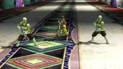 Warrior Monks Battle