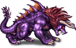 FFBE Behemoth Sprite