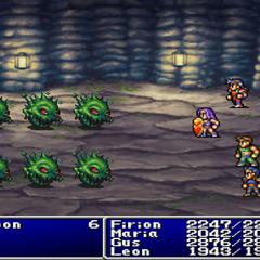 Flame Shield in <i>Final Fantasy II</i> (PS).