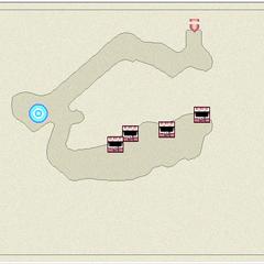 Map of Mount Hobs - Vista (DS).