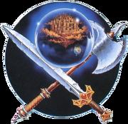 Oficjalna ilustracja pierwotnego wydania na konsolę NES.