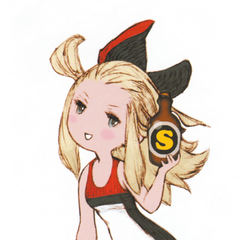 Edea with SP Drink.