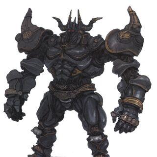 Concept artwork of the Magitek Colossus.