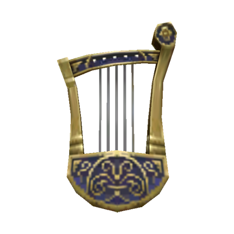 an unknown string instrument model likely used only by beastmen.