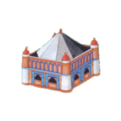 Artwork of the House from the Nintendo Power strategy guide for <i>Final Fantasy</i>.