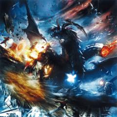 Concept artwork of Shinryu Celestia.