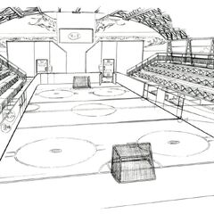Ice rink concept art.