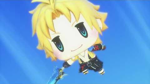 World of Final Fantasy Tidus Champion Summon (1080p 60fps)