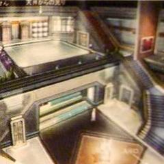Shinra HQ lobby artwork.