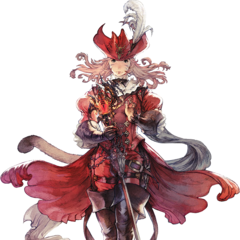 Red Mage concept art for <i>Final Fantasy XIV</i>.
