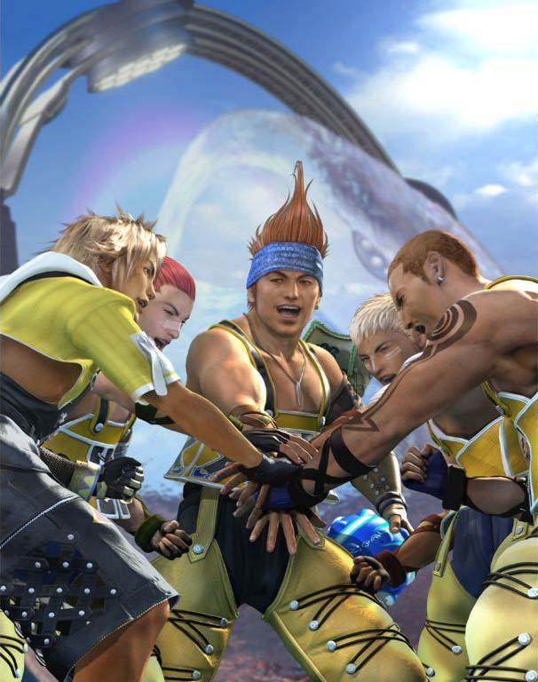 Final Fantasy x blitzball manual