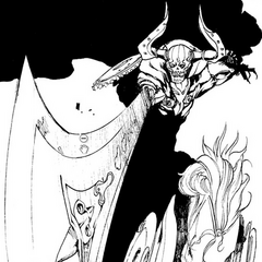 Odin in the <i>Type-0</i> manga.