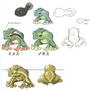 Frogs FFIX Art