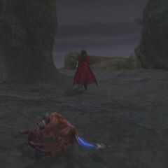 Wastelands in <i>Dirge of Cerberus -Final Fantasy VII-</i>.