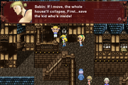 FFVI PC Sabin Collapsing House