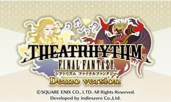 Theatrhythm demo logo