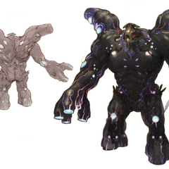 Concept art of the Giant of Babil (3D).