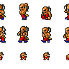Set of Yang's sprites.